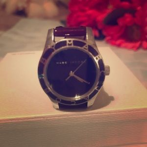 Marc Jacobs wine colored petite watch